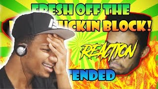 "ETIKA REACTS TO MY ""FRESH OFF THE BLOCK"" VIDEO"