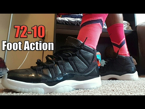 new style 6f5c9 f6f5c JORDAN 11 72-10 Foot- ACTION/Review!!!! | Sneakerheads Amino
