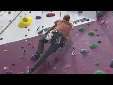 Escape the heat at Momentum Indoor Climbing in Katy