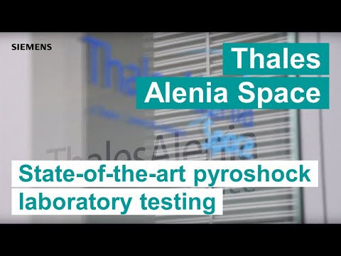 Thales Alenia Space - State-of-the-art pyroshock laboratory testing