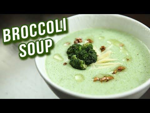 Broccoli Soup Recipe – How To Make Healthy Broccoli Soup At Home – Ruchi Bharani
