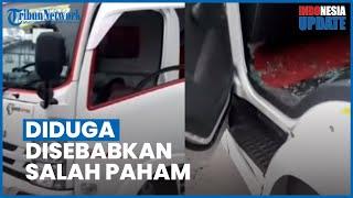 Viral Video Petugas Dishub Lempari Truk hingga Kaca Pecah, Disebut Gara-gara Salah Paham
