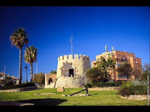 Достопримечательности Испании - город Торревьеха Сторожевая Башня 14 века