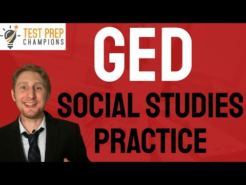 Quick FREE GED Social Studies Practice Test 2021 to Help You ...