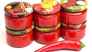 🌶ОСТРЫЙ ПЕРЕЦ НА ЗИМУ - Заготовка горького перца в масле