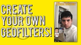 Snapchat Update - How to Make Your Own Personal Geofilters (On-Demand Filters)