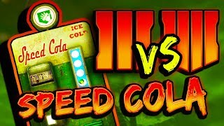 (It's WORSE Than BO3) SPEED COLA ADDED TO BO4 ZOMBIES - Side By Side Comparison