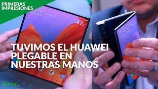 El MATE X está en MÉXICO: probamos el primer teléfono plegable de Huawei