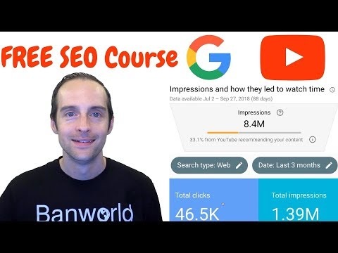 Best Free SEO Course for 2019? Rank High in Google and ...