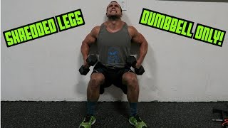 Intense Tabata Dumbbell Leg Workout (HIIT) by Anabolic Aliens