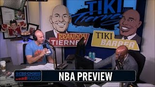 NBA Preview with Tiki and Tierney