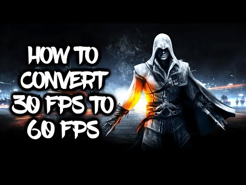 Convert 30fps Video to 60fps Guide Using MeGUI \