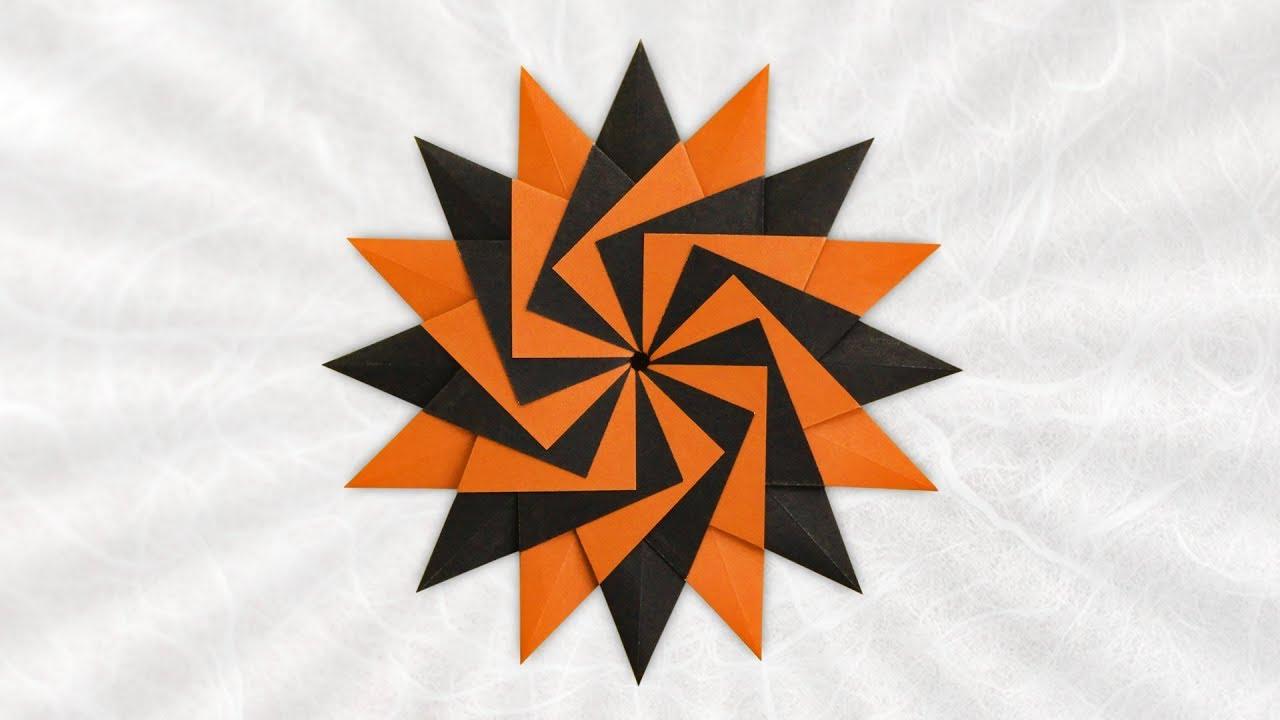 Origami Mandala Asteria (Lidiane Siqueira)