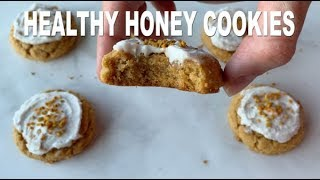 chocolate chip cookies made with coconut flour and honey