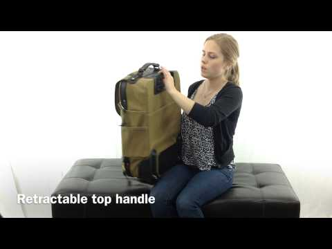 Wheeled Carry On Bag by Filson
