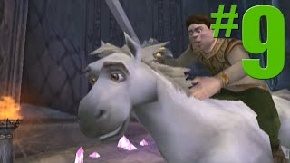 Shrek 2: Game Walkthrough Part 9 - The Mines - No Commentary Gameplay (Gamecube/Xbox/PS2)