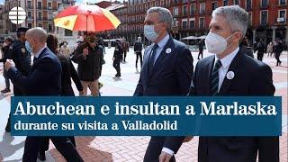 Un grupo abuchea e insulta a Grande-Marlaska en Valladolid