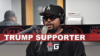 Ice Cube Wants You to Vote for Trump Because he Believes his Promises Made to The Black Community