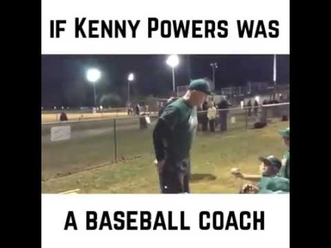 If Kenny Powers was a youth baseball coach