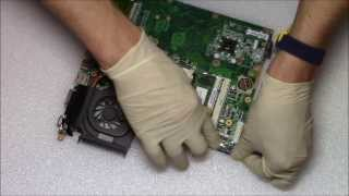 HP Pavilion DV6 GPU Replacement | Not BGA Reballing Laptop Repair