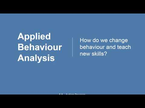 Introduction to Applied Behaviour Analysis (ABA) Workshop - YouTube