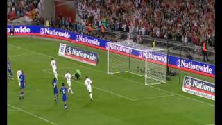 England 5 - 1 Croatia - World Cup 2010 Qualifier