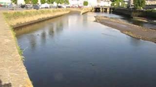 preview picture of video 'L'action des marées sur le Léguer, à Lannion'