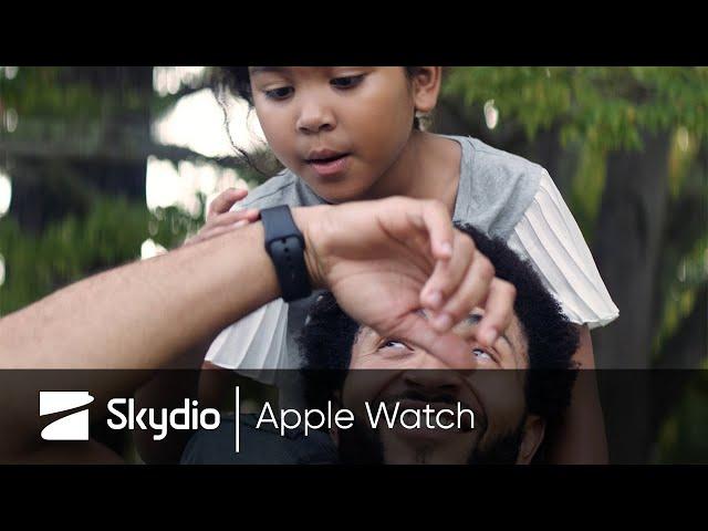 Летающей камерой Skydio R1 теперь можно управлять с экрана Apple Watch