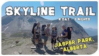 Skyline Trail, Jasper - (Part 1) - 4 Days/3 Nights 44.1 Km Family Backpack