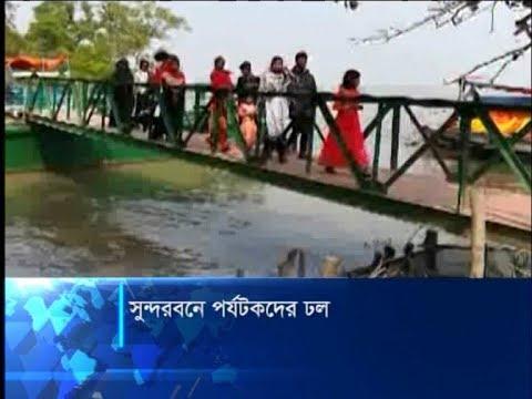নতুন বছরের শুরুতেই সুন্দরবনে ভ্রমণপিপাসু পর্যটকদের ঢল | ETV News