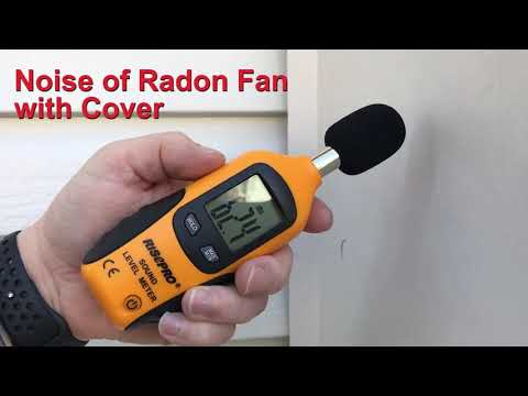 Radon Fan Noise with Cover