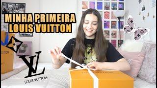 MINHA PRIMEIRA BOLSA DA LOUIS VUITTON - Julia Silva