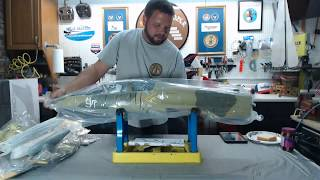 Freewing L 39 Albatros New Camo 80mm Unboxing And First Impressions.