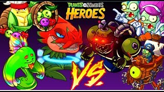 The Ultimate Showdown!: All LEGENDARY MINIONS ONLY EPIC Challenge!! |+Tricks - PvZ Heroes