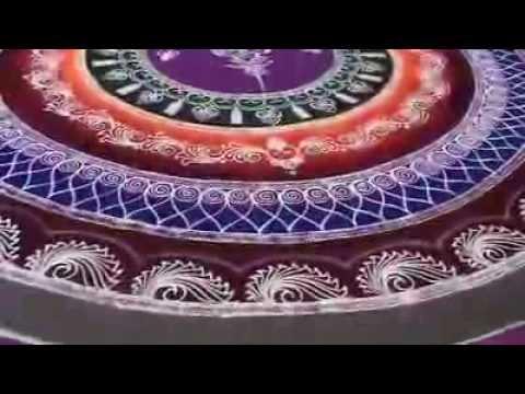 how to make sanskar bharti rangoli design by atul wagh