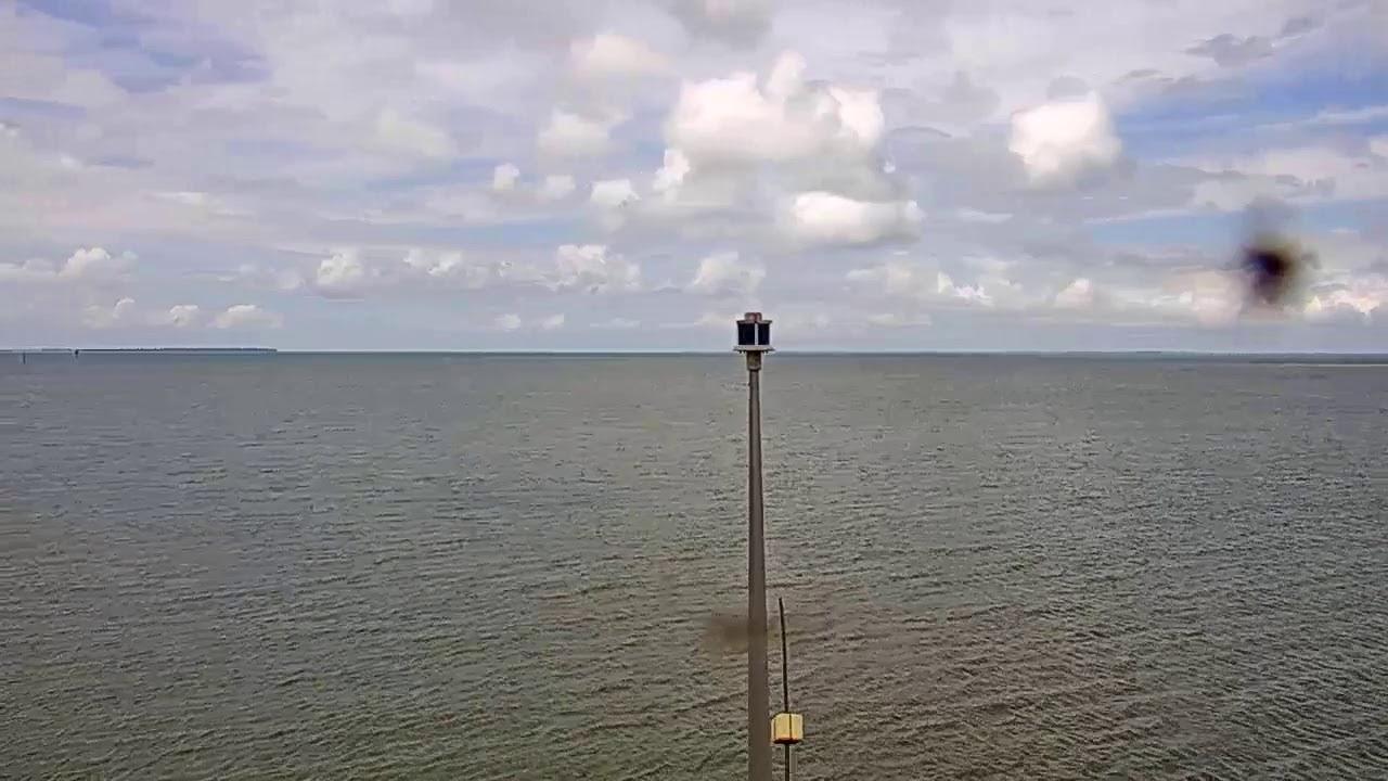 Webcam en direct de la chaussée submersible du passage du Gois qui relie l'île de Noirmoutier au continent