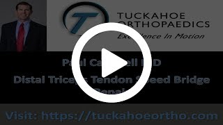 Elbow Distal Triceps Speed Bridge Repair