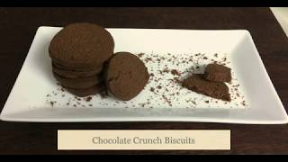 Crunchy Chocolate Biscuits