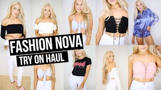 Fashion Nova Try On Haul Summer 2017