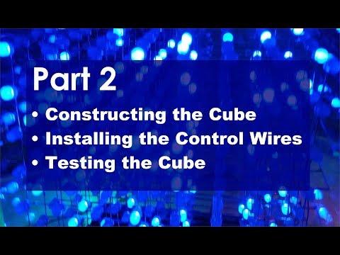 How to Build an 8x8x8 LED Cube - Part 2 (Banggood Item 1091209)