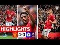 HIGHLIGHTS | United 4-0 Chelsea | Rashford, Martial & James on target! | Premier League