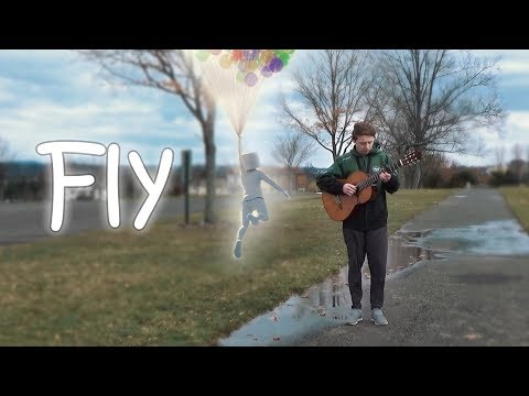 Marshmello - FLY (fingerstyle guitar cover) FREE TABS