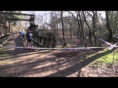 Mountainbike en Cyclocross wedstrijd OVERLOON 02-02-2014