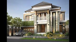 Video Desain Rumah Villa Bali 2 Lantai Ibu Dewi di  Bandung