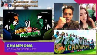 Pak vs India 🇵🇰🇮🇳 ICC Champions Trophy Final 2017 🏏 Celebrations Around The World ❤