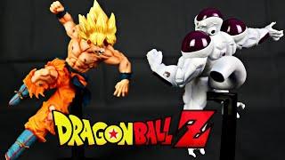 Banpresto Matchmakers   SSJ Son Goku vs Full Power Freezer   Review Deutsch