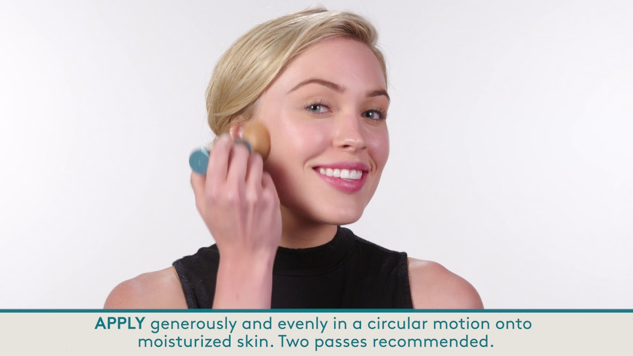 How to use Colorescience Sunforgettable Total Protection Brush-on Shield SPF 50