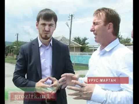 Ликвидация последствий дождей в Чечне - видео-репортаж