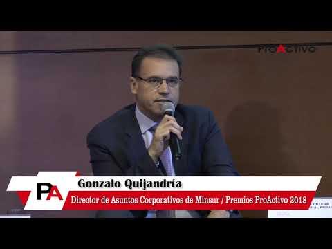 #PremiosProActivo 2018: Bloque Minería - Gonzalo Quijandría, Director Minsur