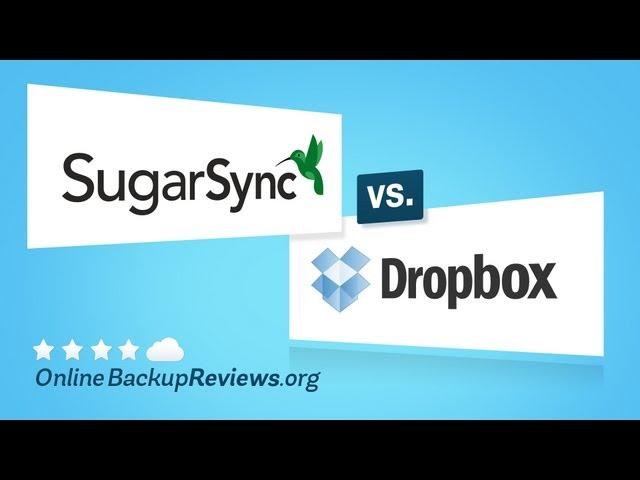 SugarSync vs. Dropbox - Battle of Cloud Storage Services